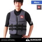 QUIKSILVER/クイックシルバー メンズ ライフジャケット ベスト 救命胴衣 フローティングベスト プール 海水浴 QWT152901