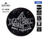 DEATH LABEL/デスレーベル メンズ デッキパッド ストンプパッド スノボ板 滑り止め すべり止め ロゴ CIRCLE_PAD