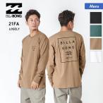 BILLABONG/ビラボン メンズ ロングTシャツ ロンT 長袖Tシャツ ティーシャツ バックプリント ロゴ BB012-056