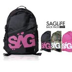 SAGLiFE/サグライフ メンズ&レディース リュックサック ACELY デイパック バックパック バッグ かばん 鞄 おしゃれ 人気ブランド 1403-024BL