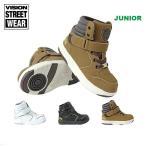 VISION/ビジョン キッズ スニーカー ダンス シューズ くつ 靴 ストリート ウェア 男の子用 女の子用 VKO-504
