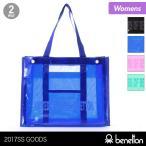 BENETTON/ベネトン レディース ビニールバッグ メッシュバッグ付き かばん 透明バッグ プールバッグ 227-156