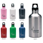 LAKEN(ラーケン) フツーラ・サーモ0.35L ピンク PL-TE3P ボトル 水筒 アウトドア ステンレスボトル アウトドアギア