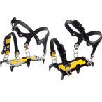 EVERNEW エバニュー 6本爪アイゼン/L EBY014 登山靴 トレッキングシューズ アウトドア 釣り 旅行用品 アイゼン スノースパイク アウトドアギア