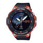 CASIO カシオ Smart Outdoor Watch PRO TREK Smart/オレンジ WSD-F20-RG 腕時計 ファッション アクセサリー メンズ腕時計 高機能ウォッチ アウトドアギア