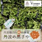丹波黒豆 丹波の黒さや 枝豆 1箱 黒まめの小田垣商店