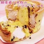 ショッピング新潟 【送料無料】米粉と越後姫いちごのシフォンケーキ ホワイトデー