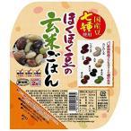 パックご飯 ほくほく豆の玄米ご飯 150g×12個 越後製菓 玄米ごはん レトルトご飯