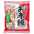 お赤飯の素 もちもちお赤飯セット 363g(2合分)×10袋 新潟県産もち米付き 北海道産小豆使用 越後製菓