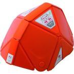 【TV番組で紹介】折りたたみ防災ヘルメット ミドリ安全 フラットメット TSC-10 Flatmet 災害の備えに頭部を守る/最薄で収納、備蓄に最適 オレンジ