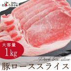 背肉 - 豚肉 豚ロース スライス 1kg 生姜焼き 選べるカット 業務用