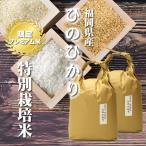 令和元年産 ヒノヒカリ 10kg 5kg×2 / お取り寄せグルメ 特A 福岡県 特別栽培米 たごもり農園