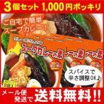 「お買い得3個セット」(メール便♪送料無料)カレー屋さんの味 スープカレーの素 濃縮スープ2袋入×3個セット(MIXスパイス付)Curry World カレーワールド