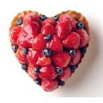 バースデーケーキ いちごとブルーベリーのタルト ハート型 記念日ケーキ