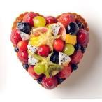 ショッピング誕生日 誕生日ケーキ ハート型ミックスフルーツ季節のタルト 記念日ケーキ