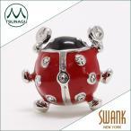 ラペルピン メンズ SWANK(スワンク)テントウムシ ピンズ  定形外郵便 送料無料 赤いロボッ