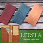 ショッピング薄型 薄型でシンプルなお札入れ/LITSTA Bill Case リティスタ ビルケース/薄型でシンプルなお札入れ/収納力も抜群長財布/レザー/日本製/送料無料