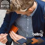 スキミング防止システム搭載二つ折り財布/Bellroy ベルロイ Note Sleeve RFID プロテクション機能搭載/カード11枚、紙幣、小銭も入る薄い財布 二つ折り/送料無料