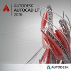 AutoCAD LT 2016 Commercial New SLM with Subscription in the Box