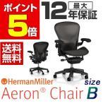 アーロンチェア グラファイトカラーベース ポスチャーフィットフル装備 Bサイズ(クラシックカーボン) HermanMiller ハーマンミラー
