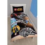 スターウォーズ STARWARS レゴ LEGO シングル 布団カバー + 枕カバー セット