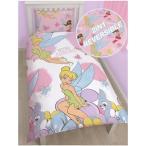 ディズニーフェアリーズ Disney Fairies シングル 布団カバー + 枕カバー セット