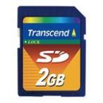 【トランセンドジャパン】SD/SDFCカード TS2GSDC 2GB