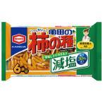 #減塩 亀田の柿の種 6袋  194225   亀田製菓  ※軽減税率対象商品