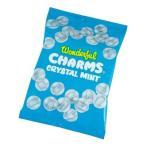 (代引不可) (同梱不可)CHARMS(チャームス) キャンディ クリスタルミント 袋入 45g×40袋 飴 おやつ ミント味