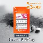 鉄分 サプリ ヘム鉄 ビタミン サプリメント 健康食品 ミネラル 約3ヶ月分_ZRB