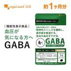 GABA サプリメント 機能性表示食品 サプリ 血圧 改善 ストレス の軽減 疲労 感 の緩和に ギャバ リラックス カカオ 健康 美容 約1ヶ月分 送料無料