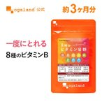 葉酸 ビタミンM ビタミンB サプリメント サプリ オーガランド パントテン酸 カルシウム ビタミンB1 ビタミ