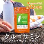 【1年分】グルコサミン コンドロイチン コラーゲン(II型コラーゲン、フィッシュコラーゲン) 運動サポート 健康食品 サプリメント 約12ヶ月分 _JH