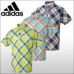 【60%OFF クリアランスセール】 アディダスゴルフ (adidas)  JP adicross マドラスプリント S/S 半袖ポロシャツ メンズ