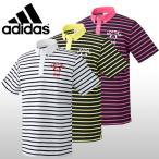 【50%OFFセール】 アディダスゴルフ (adidas Golf) JP SP クレリックボーダー 半袖 ポロシャツ メンズ 2016春夏/2016SS_SALE