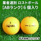(ABランク)本間ゴルフ D1 オレンジ 6個入り 業者選別 ロストボール HONMA D1 ディーワン