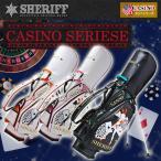 ショッピングキャディバッグ シェリフゴルフ (SHERIFF) カジノシリーズ スタンドキャディバッグ 限定生産 シェリフ カートCB【限定50本】