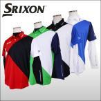 【20%OFFセール】スリクソン(SRIXON) カラー切替 半袖ポロシャツ (長袖インナーシャツ付)【松山英樹プロ 着用モデル】 ダンロップ メンズ