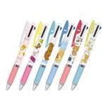 リラックマ 3色ボールペン ジェットストリーム ペン 文房具 三菱鉛筆 Uni 多機能ペン