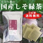 しそ緑茶(国産) 小川生薬 90g(30袋) 徳島産シソ使用 DM便