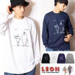 LEON レオン 「ok good...」 リブロンT (長袖Tシャツ)映画Tシャツ