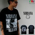 NIRVANA 「ニルヴァーナ」「BLEACH」 バンドTシャツ ロックTシャツ 「FLUIT OF THE LOOM」フルーツオブザルーム USA規格