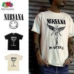 NIRVANA 「ニルヴァーナ」「NEVER MIND」 バンドTシャツ ロックTシャツ 「FLUIT OF THE LOOM」フルーツオブザルーム USA規格