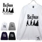 バットマン ダークナイト 「Abbey Road?」 リブロンT (長袖Tシャツ)映画Tシャツ
