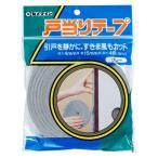 防音テープ (セメダイン) 戸当り 隙間風 防止テープ 2巻 (15mm×4m)