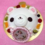 写真ケーキ スイートベアー くま ケーキ バースデーケーキ お誕生日 パーティー 記念日 サプライズ 生クリーム7号