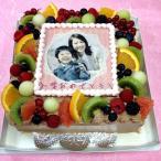 生チョコレートケーキ バースデーケーキ お誕生日 パーティー 記念日 サプライズ(四角)8号