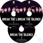K-POP DVD BTS BREAK THE SILENCE 3枚SET -EP01-EP07- 日本語字幕あり 防弾少年団 バンタン 韓国番組収録DVD BANGTAN KPOP DVD