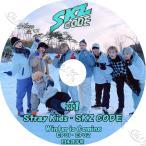K-POP DVD STRAY KIDS SKZ CODE #1 (EP01-EP02) 日本語字幕あり Stray Kids ストレイキッズ 韓国番組収録 STRAY KIDS KPOP DVD