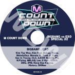 K-POP DVD M Countdown BIGBANG / EXO COMEBACK SPECIAL -2015.06.03-  EXO/ BIGBANG/ SHINee/ MONSTA X/ 2PM/ KARA 他 CON DVD
